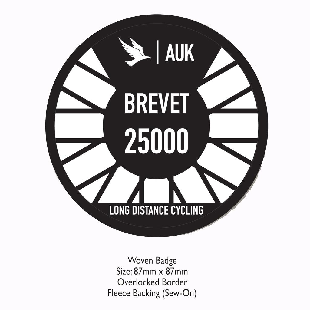 2017 Brevet Series Woven Badges